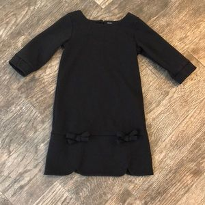 Gap black dress
